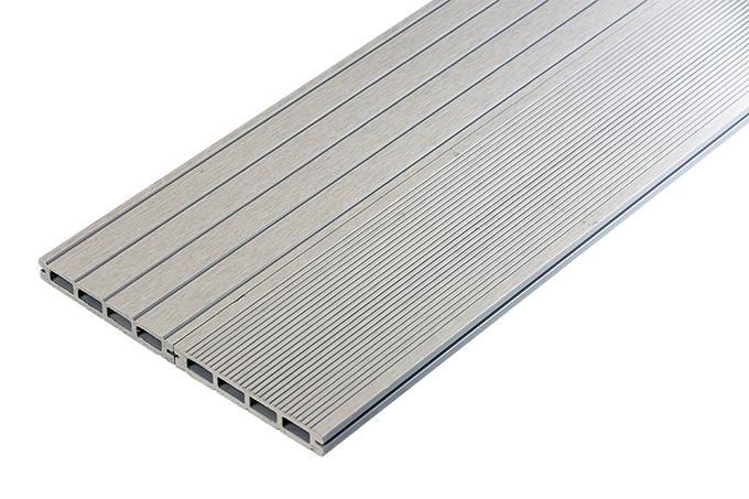 Grey Grooved Composite Deck