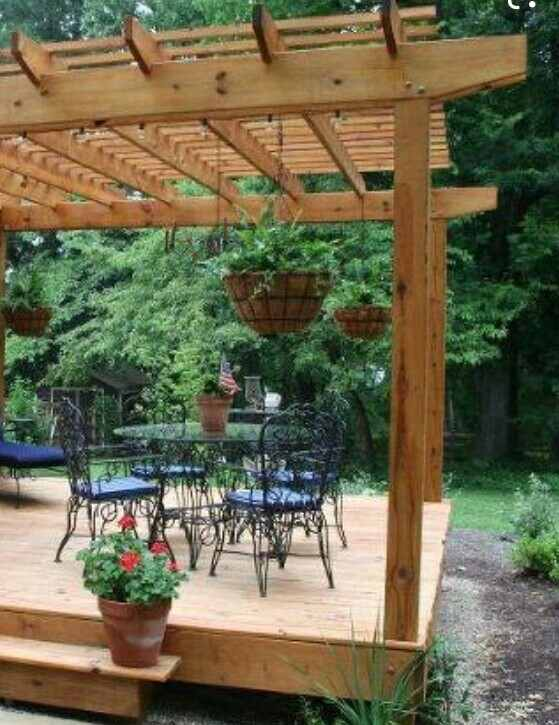 build shade over outdoor decking