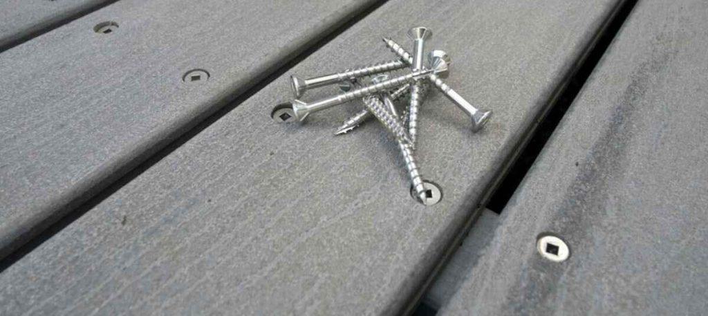 surface installation method of installing outdoor decking