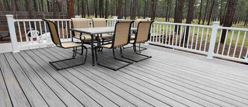 outdoor decking is good for activities