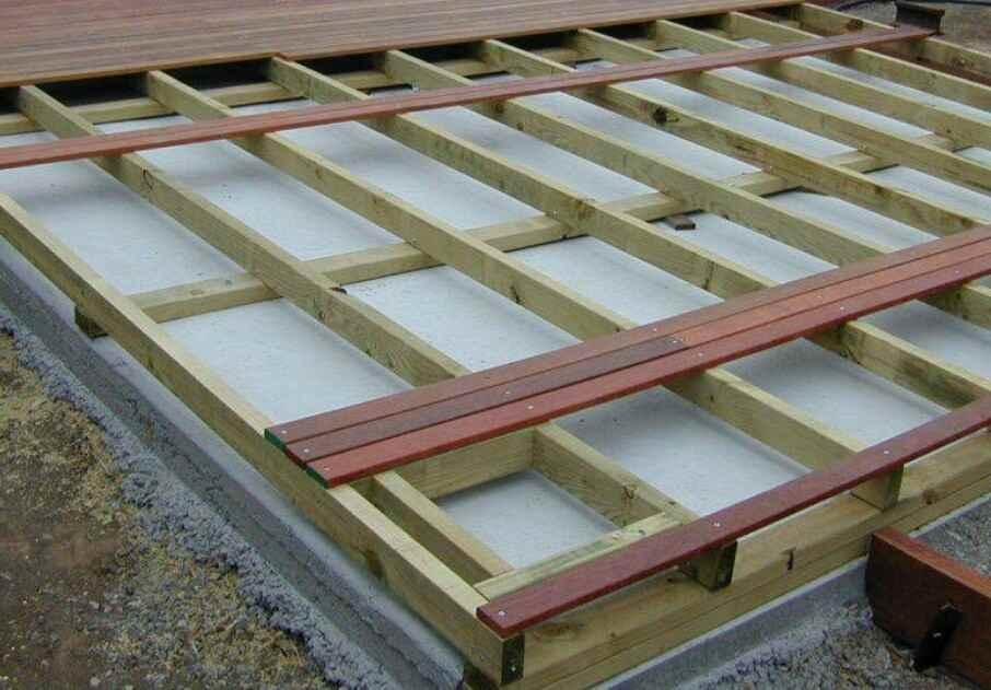 install outdoor decking