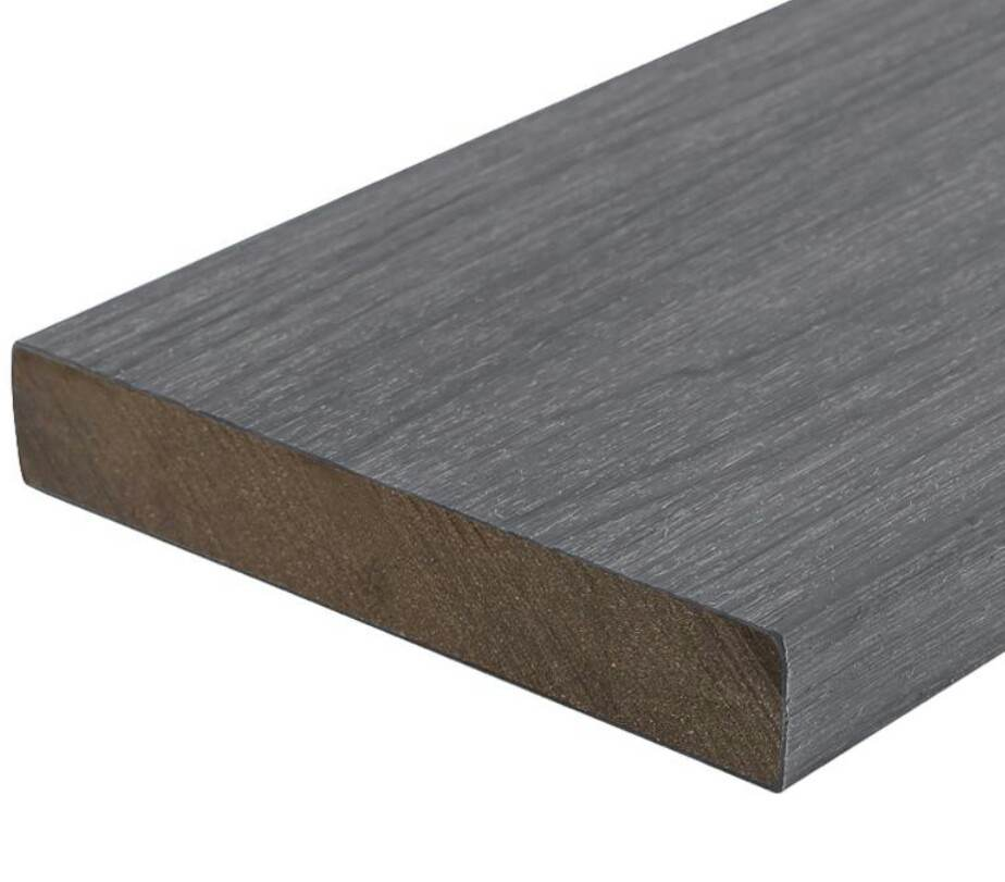 ungrooved outdoor decking