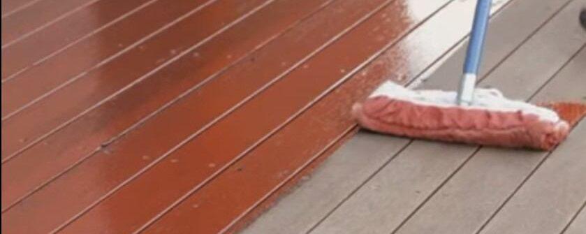 Restore outdoor decking