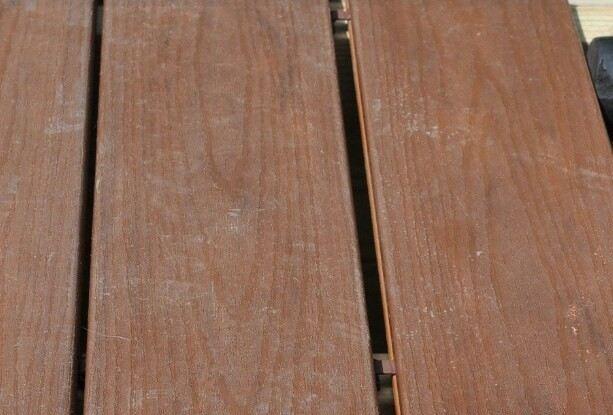 outdoor decking expansion gap
