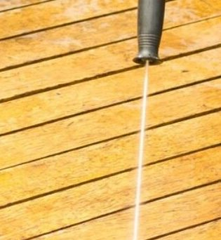 how to maintain an outdoor decking