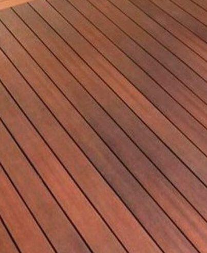plastic-wood decking