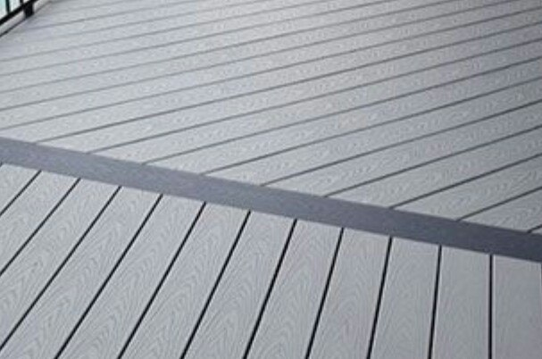 composite decking will not swell