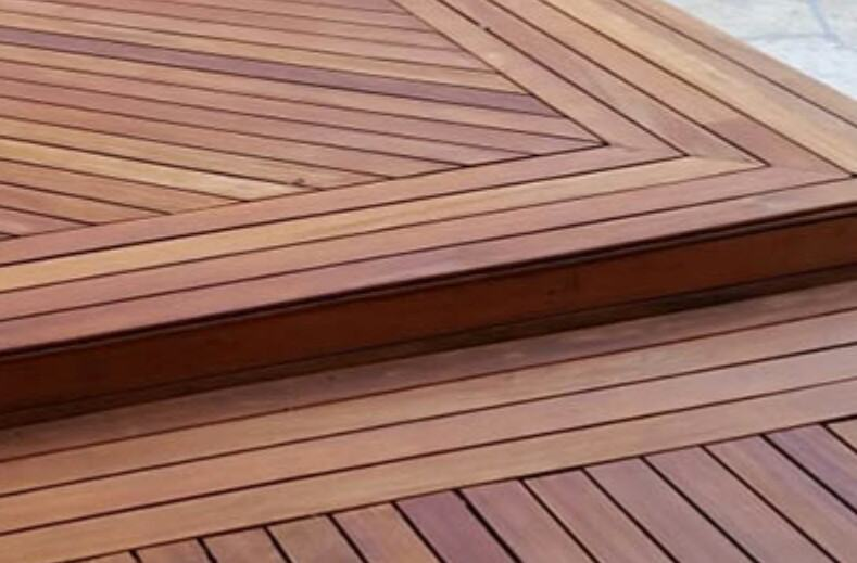 how to hide outdoor decking edges