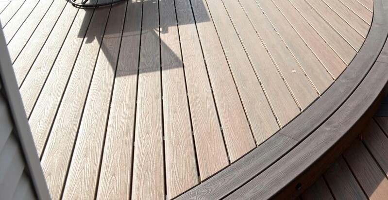 cost to install outdoor decking