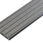 Should I use grooved and ungrooved composite decking for a clean finish? If you want to attain a clean decking finish when installing your decking