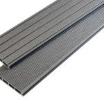 Anthracite Grey Grooved Board