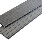 Anthracite Grey Grooved Composite
