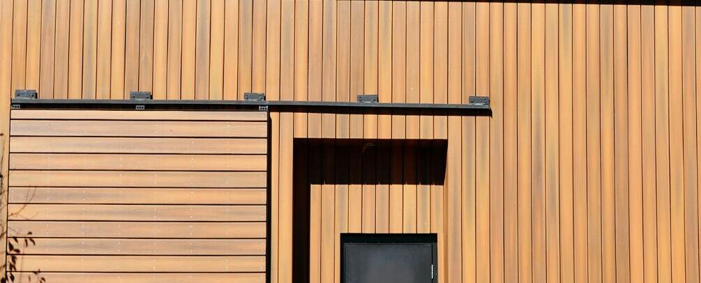 how much is synthesized cladding vs wood