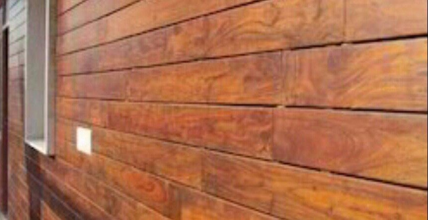 how to paint or stain Cladding