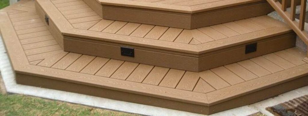 Finish the Edges of outdoor Decking?