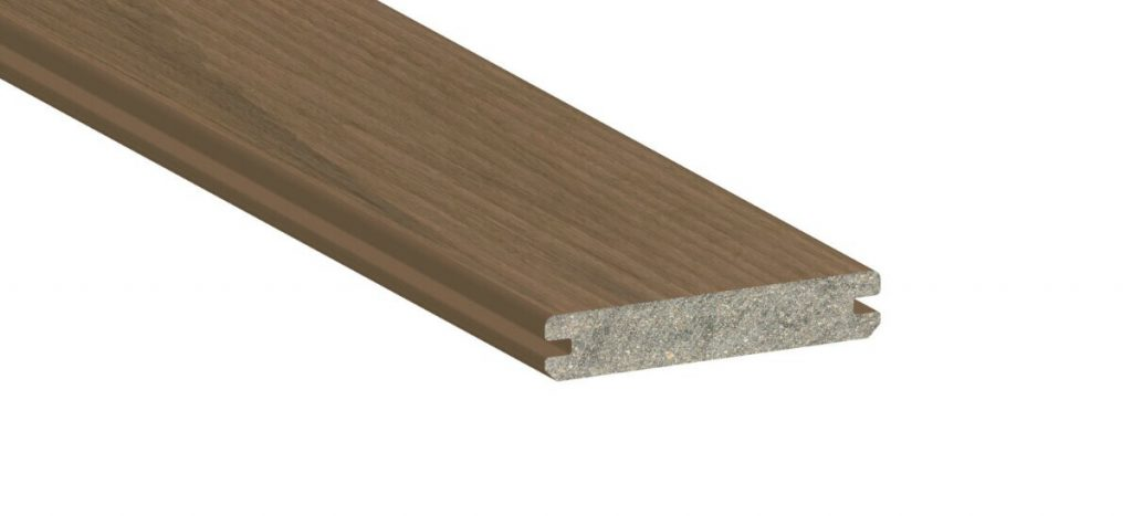 grooved outdoor decking