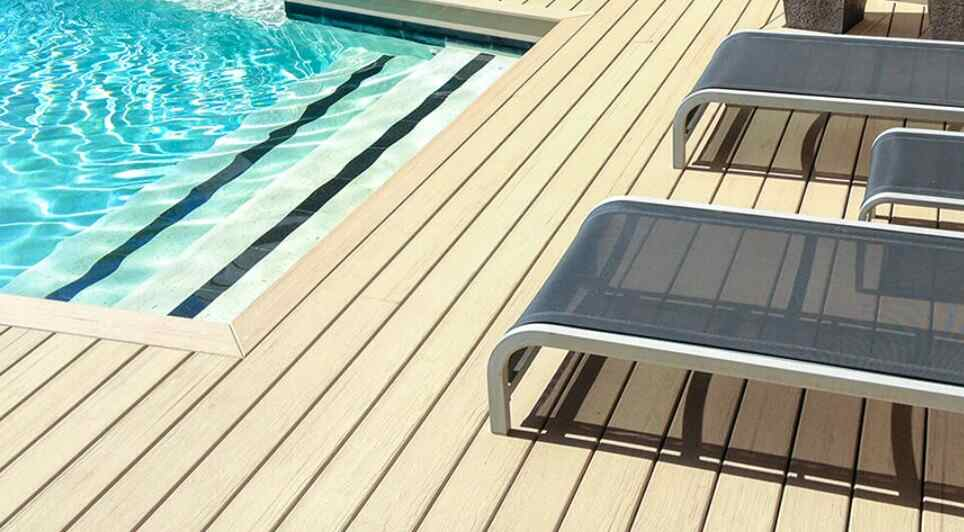 outdoor decking cannot be used as a structural material
