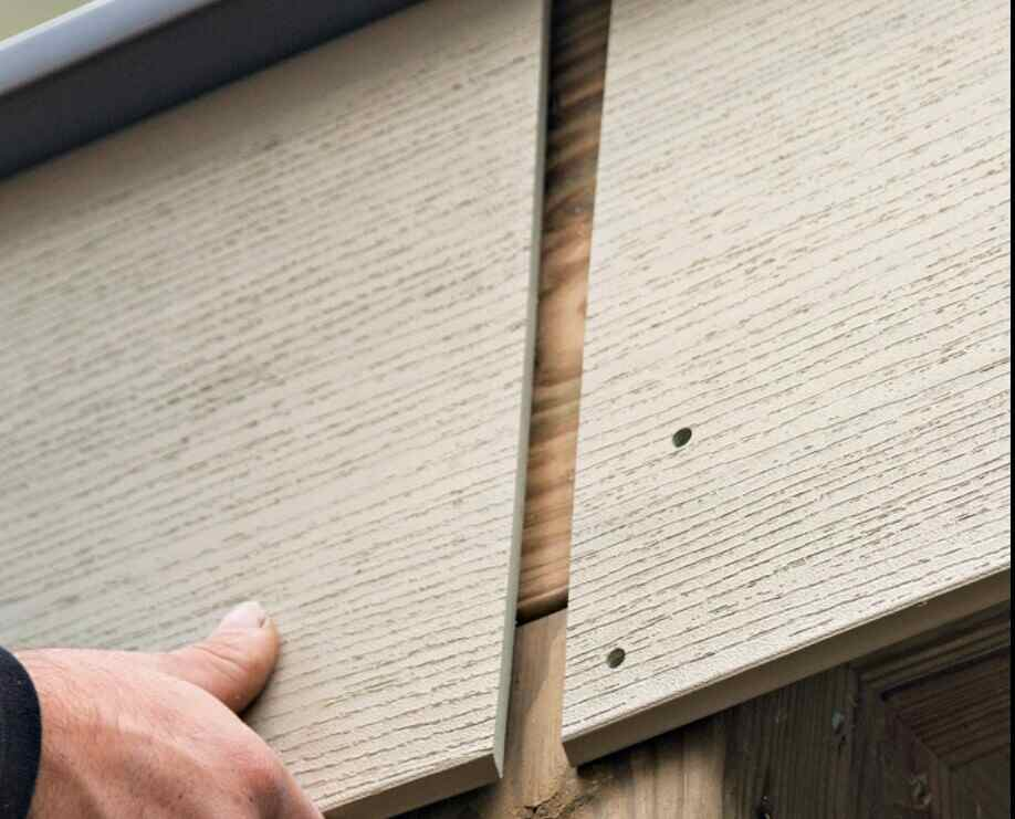 covering the edges of outdoor deck ing with screws and glue