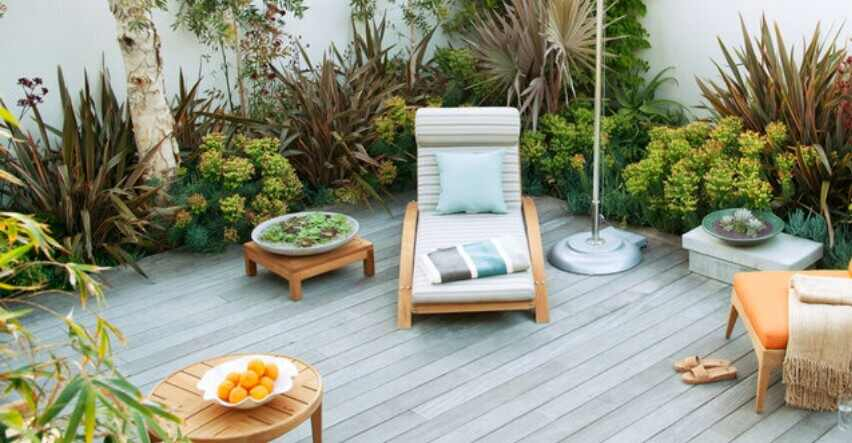 beautiful outdoor decking