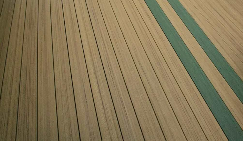 outdoor decking does not get as hot as timber