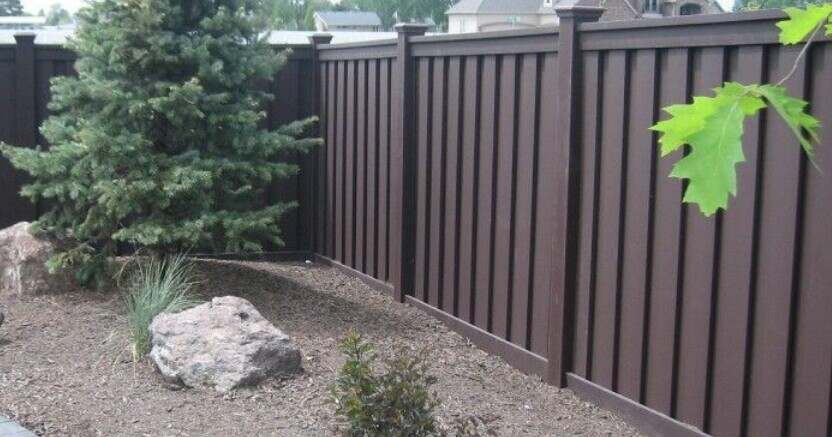 attractive plastic fence