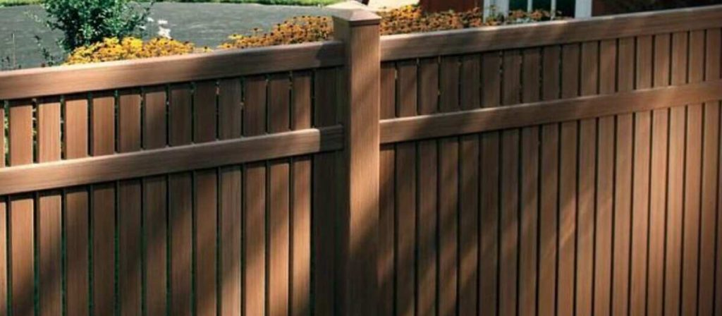 attractive plastic fence that is better than timber