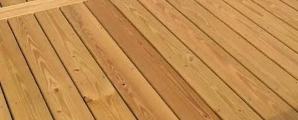timber decking material will not last the longest