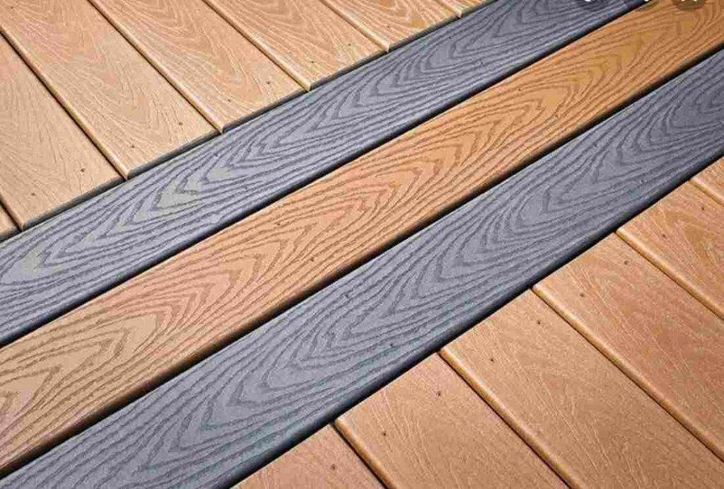 top-grade decking boards with attractive colours