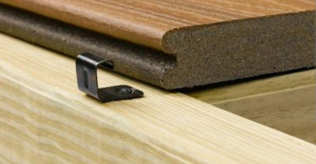 grooved decking installation is easy