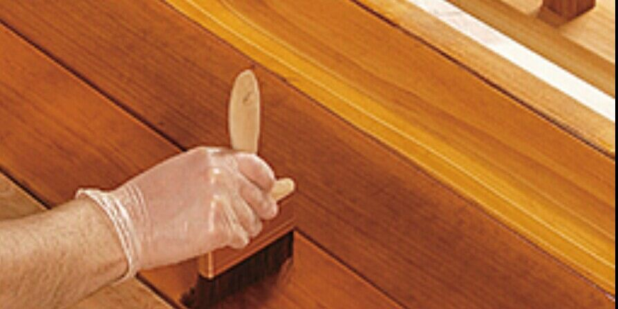 restoring faded decking