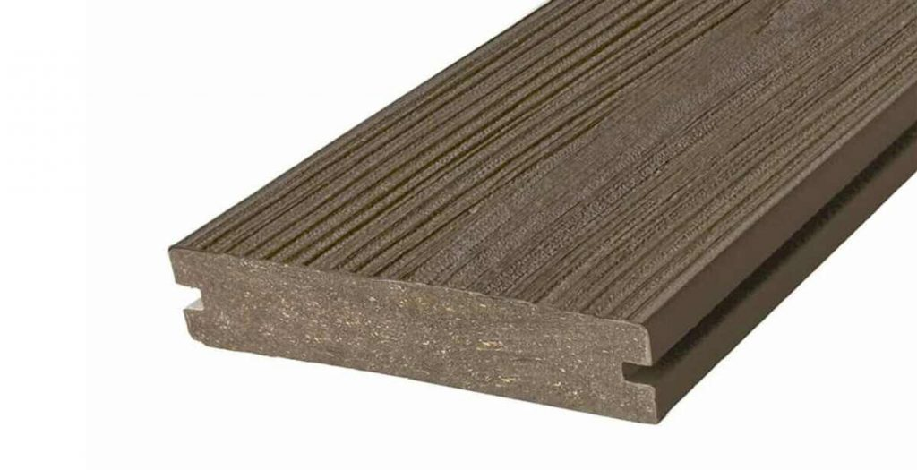 grooved type and quality of decking