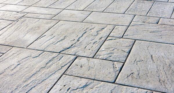 concrete outdoor flooring material