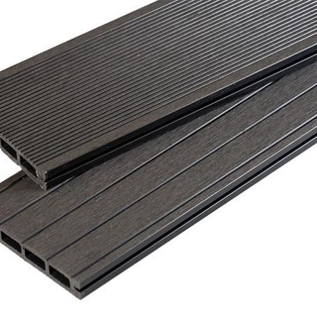 Black Grooved decking