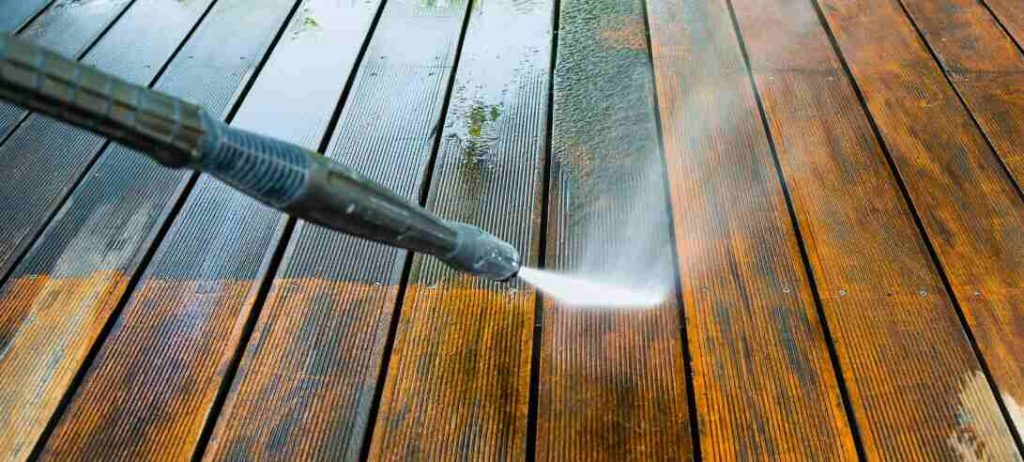how to maintain decking in the uk